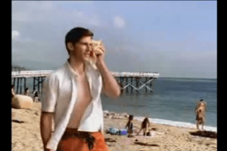 2003 Bud light Hermit crab super bowl ad pick-up lines for the beach