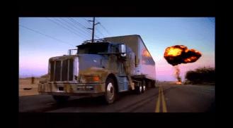 2003 Monster.com Driverless truck 18 wheeler super bowl ad crashing