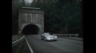 2005 Cadillac V-Series cars get shot out of tunnels 0-60 in under 5 seconds