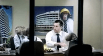 2005 CareerBuilder Monkey Office boss wants to name product the Titanic