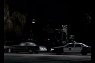 Cops roll-up on a couple of love birds in this 2005 Super Bowl commercial