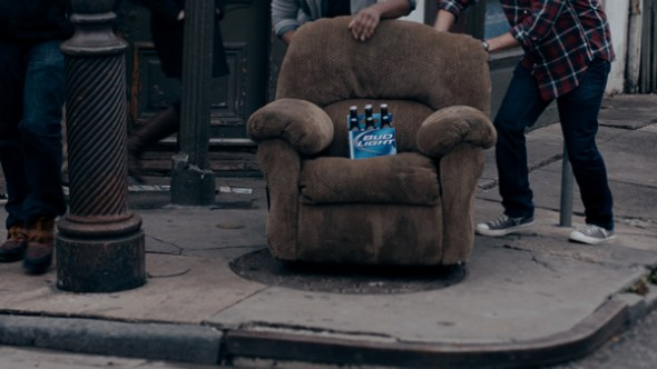 "2013 Bud Light Super Bowl Commercial ""Lucky Chair"""