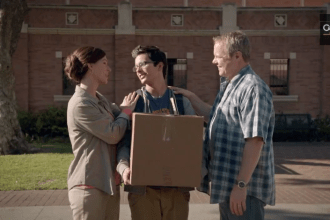 """Century 21 2013 pre-game Super Bowl XLVII commercial """"College"""""""