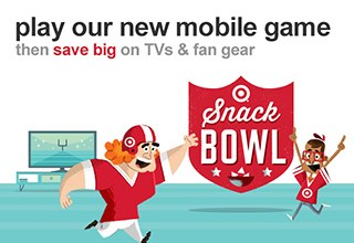 2013 Target Super Bowl interactive game