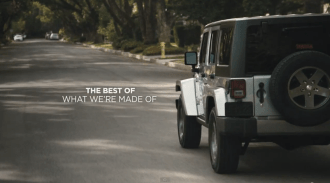 "2013 Chrysler Jeep Super Bowl XLVII Ad ""Whole Again"" with Oprah Winfrey Salut to troops"