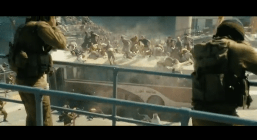 "Paramount Pictures 2013 Super Bowl XLVII ""World War Z"" with Brad Pitt"