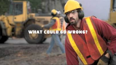 "2011 Snickers Super Bowl XLV ""Logging"" Teaser Ad [Video]"