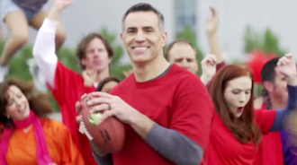 The Super Bowl debut of Skittles, which became a National Football League sponsor in 2014, comes with a teaser campaign from Olson Engage. It shows a Skittles-filled tailgate party in the vacant University of Phoenix Stadium parking lot, four weeks before the game in Glendale, Ariz. It uses Kurt Warner