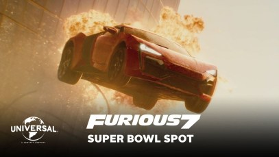 "Universal Pictures 2015 Super Bowl XLIX Ad ""Fast and Furious 7"""