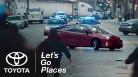 """Toyota Prius 2016 Super Bowl 50 Ad """"The Longest Chase"""""""