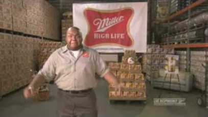 2009 MILLER HIGH LIFE – 1 Second Ad- Super Bowl Ad