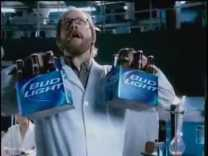 [HD] Exclusive Bud Light Scientist 2010 SuperBowl 44 XLIV Commercial Ad