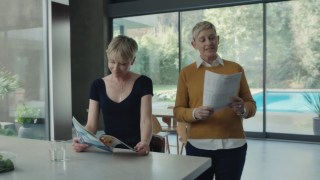 Amazon #BeforeAlexa Super Bowl Ad with Ellen DeGeneres and Portia de Rossi