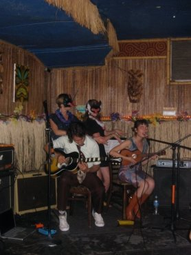 live at Otto's Shrunken Head, NYC 2008