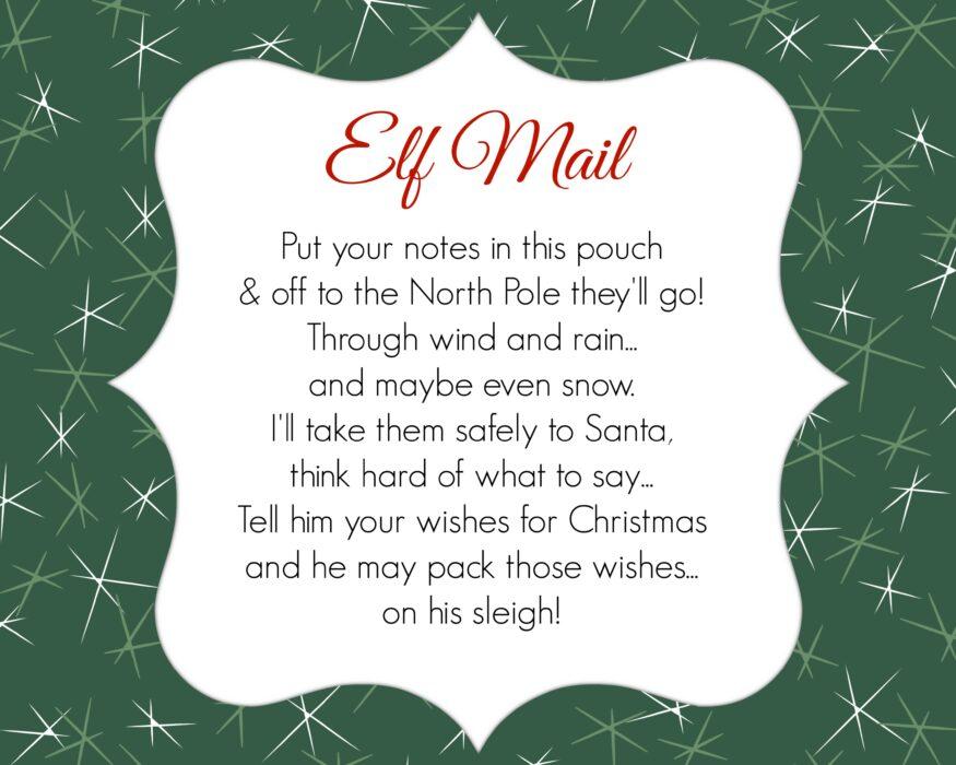 Elf On The Shelf Welcome Back Letter Printable.Free Elf On A Shelf Printables
