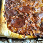 Puff pastry pizza recipe