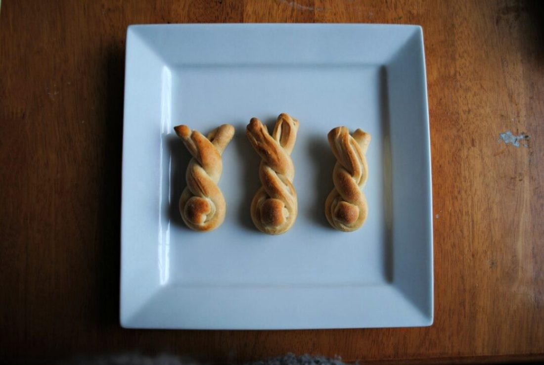 Breakfast Bread Bunnies