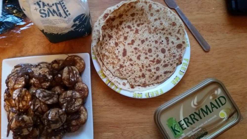 Pancake day with galberts pancakes