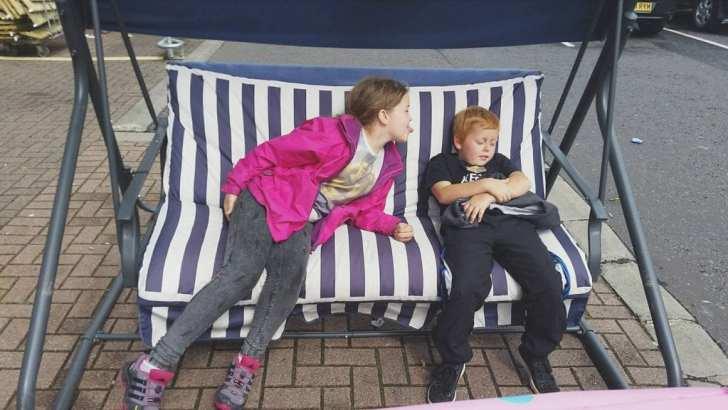 Siblings in August