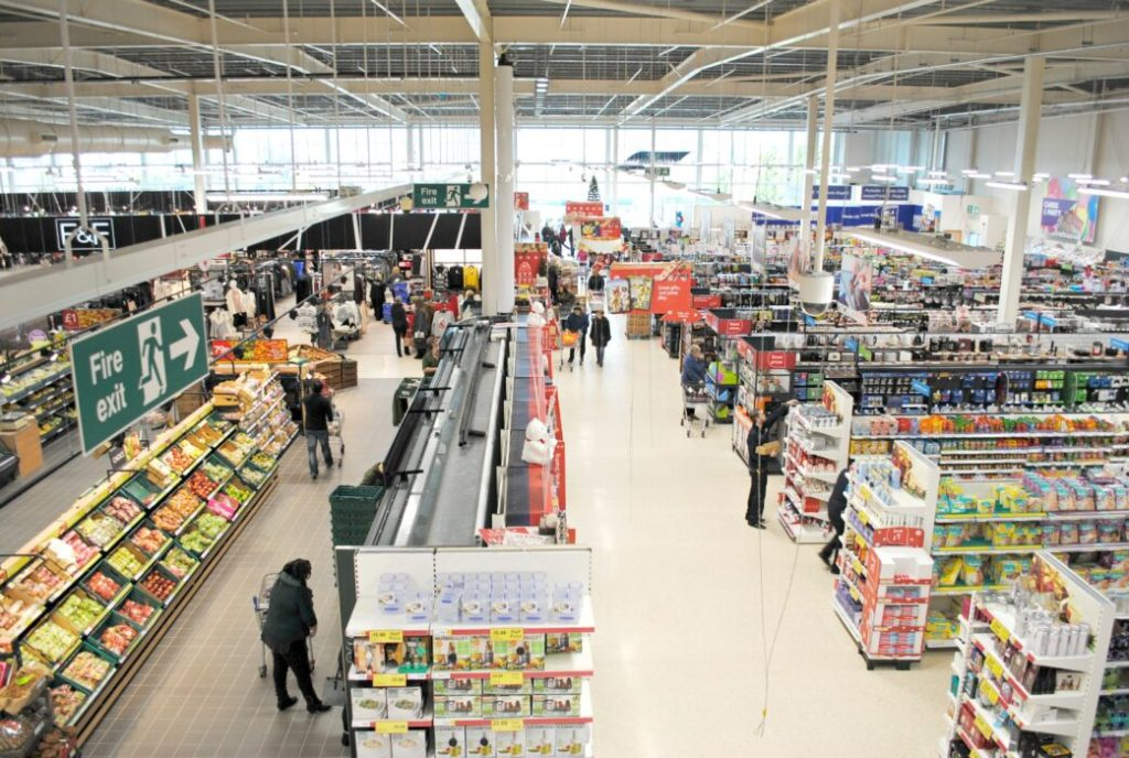 A tour of the newly refurbished Tesco store in Newtownbreda