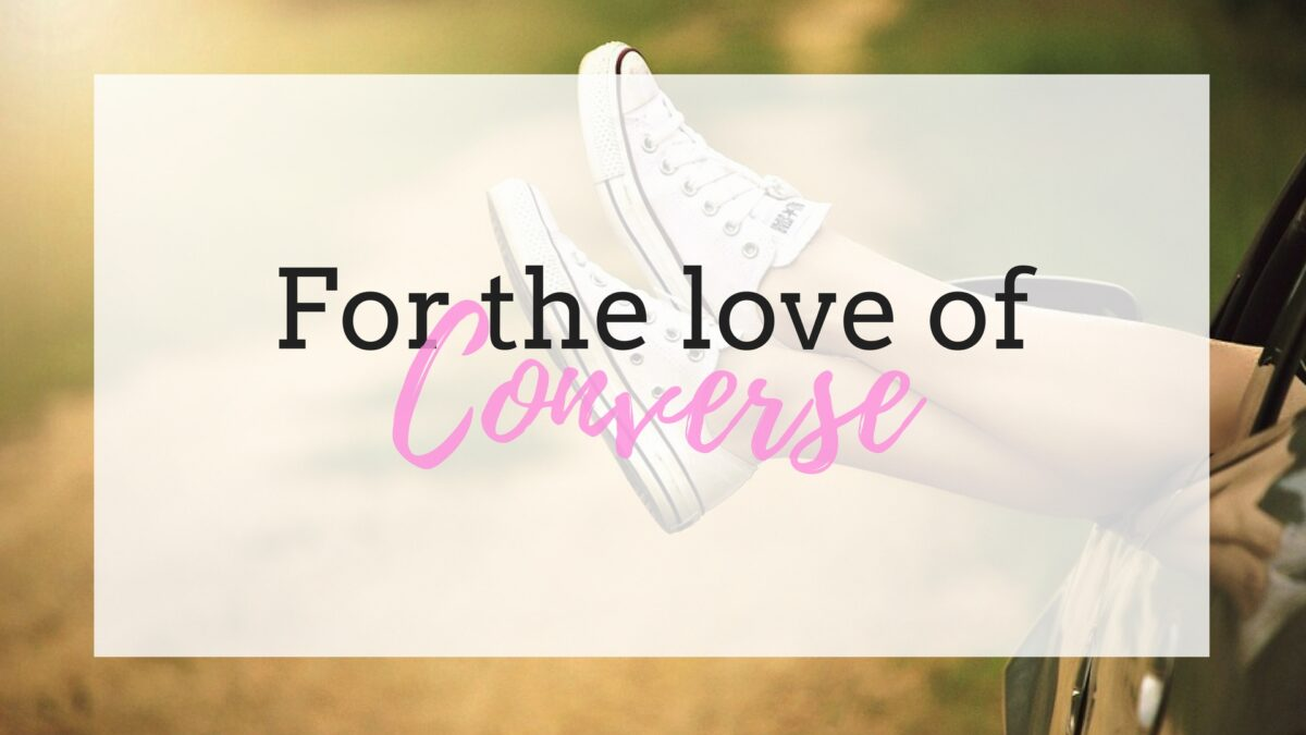 For the love of Converse {a little wish list}