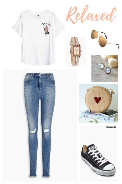 Relaxed spring outfit