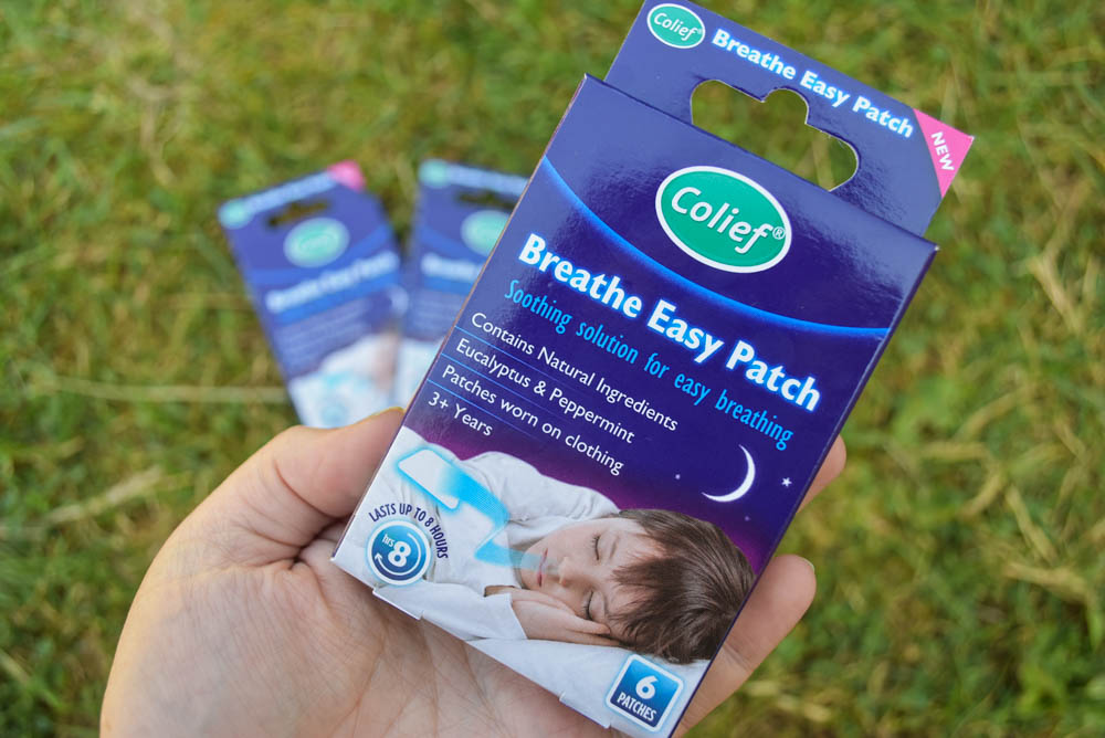 Breathe easy patches