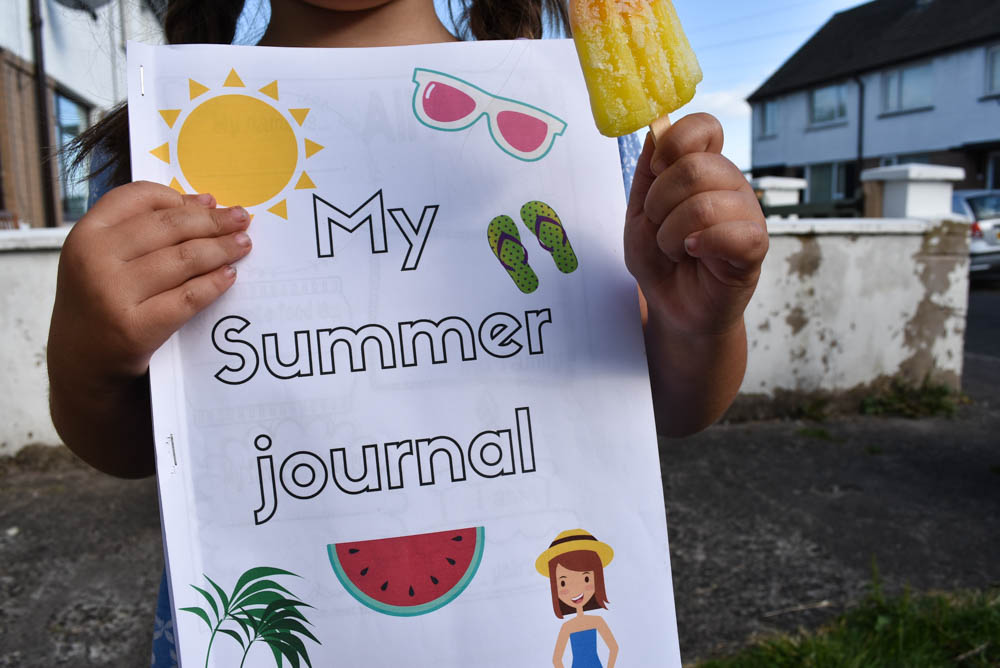 Summer Journal plans & free printables