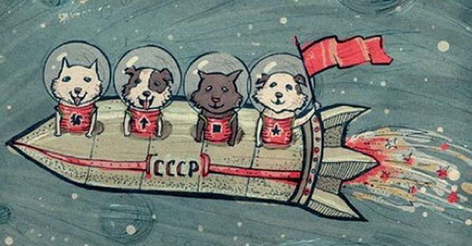 Perros Soviéticos En El Espacio