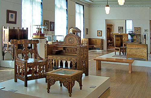 Ancient Byzantine Furniture