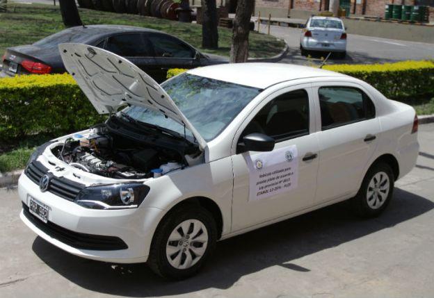 "Taxi a bioetanol de caña de azúcar. FOTO: Prensa ""Los Balcanes""."