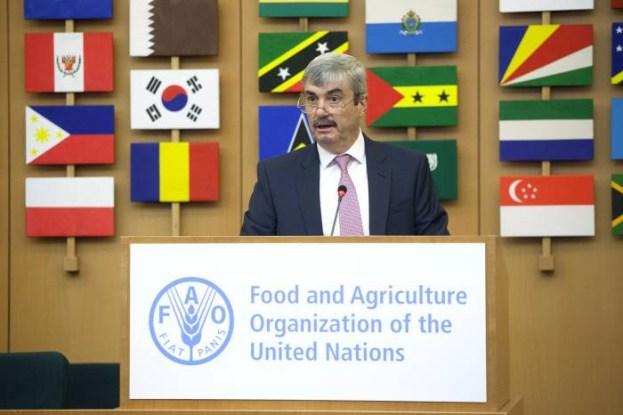 Nestor Roulet en FAO