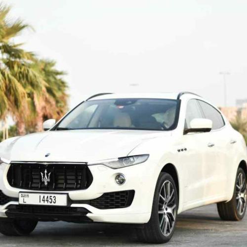 Maserati Levante Rent Dubai