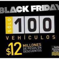Black friday de vehiculos en Santo Domingo Motors