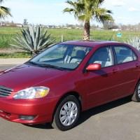 Toyota Corolla 2003 precios, especificaciones.