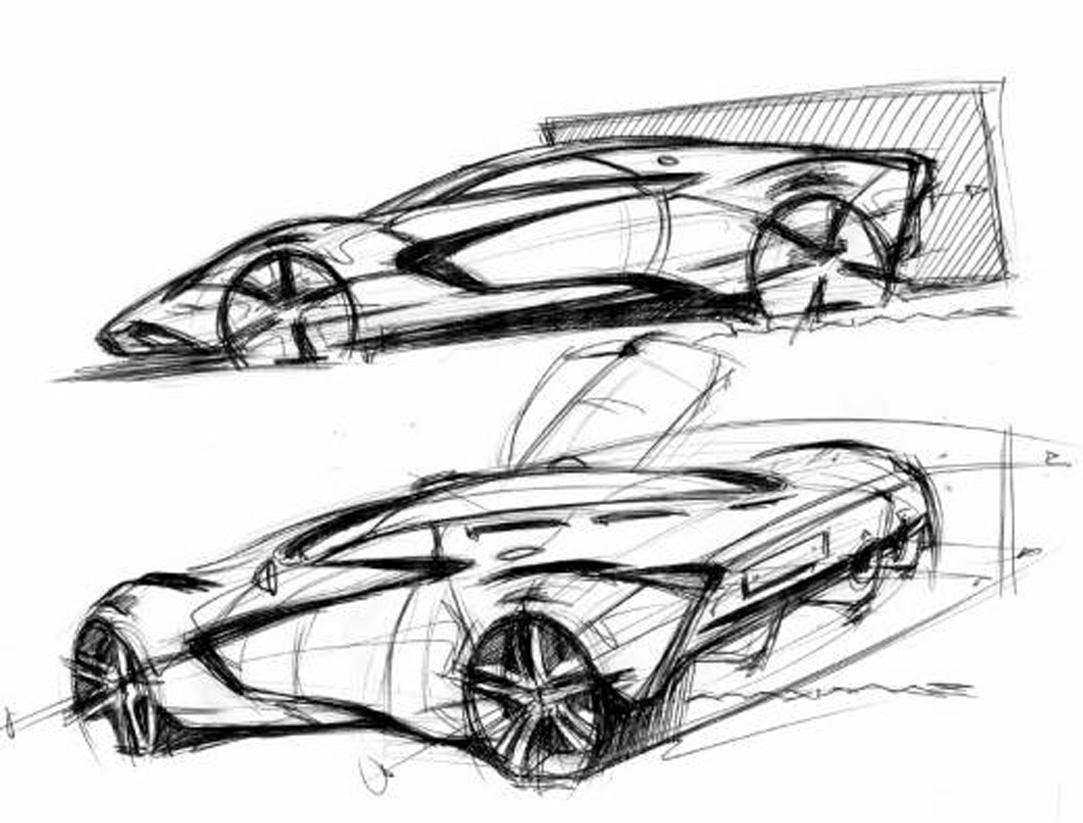 Marussia Concept Sketch 02