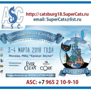 Catsburg ASC'18. 3 и 4.03-2018