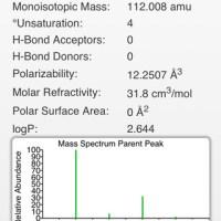 ChemDoodle Mobile - darmowy, prosty program do rysowania wzorów, struktur i symulacji widm NMR na iPada