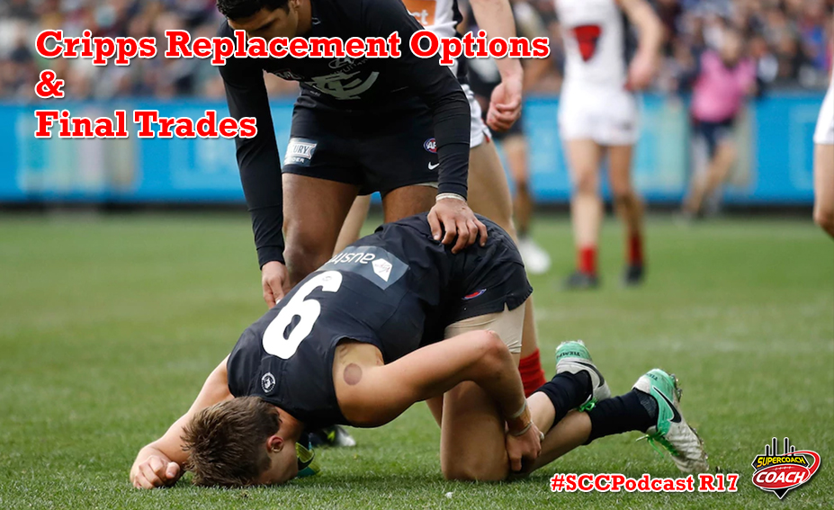 Patrick Cripps Injured & Final Trades Strategy #SCCPodcast.2017-R17