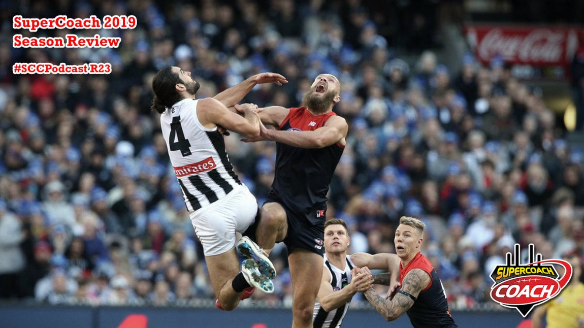 season review supercoach 2019 max gawn brodie grundy