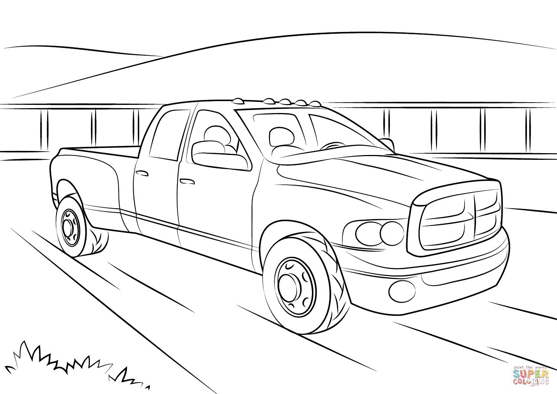 S Dodge Truck Clip Art