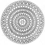 Difficult Advanced Mandala Coloring Pages Novocom Top