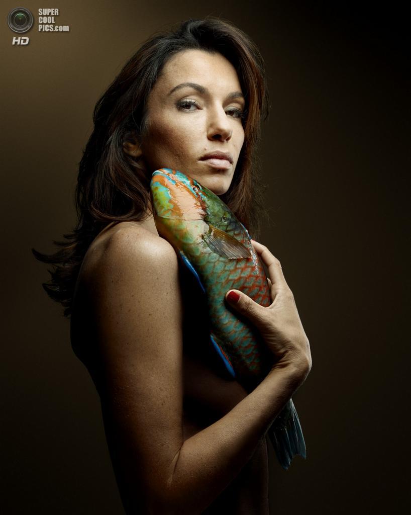 Французская актриса и режиссёр Ор Атика в проекте «Рыбная любовь». (Denis Rouvre)
