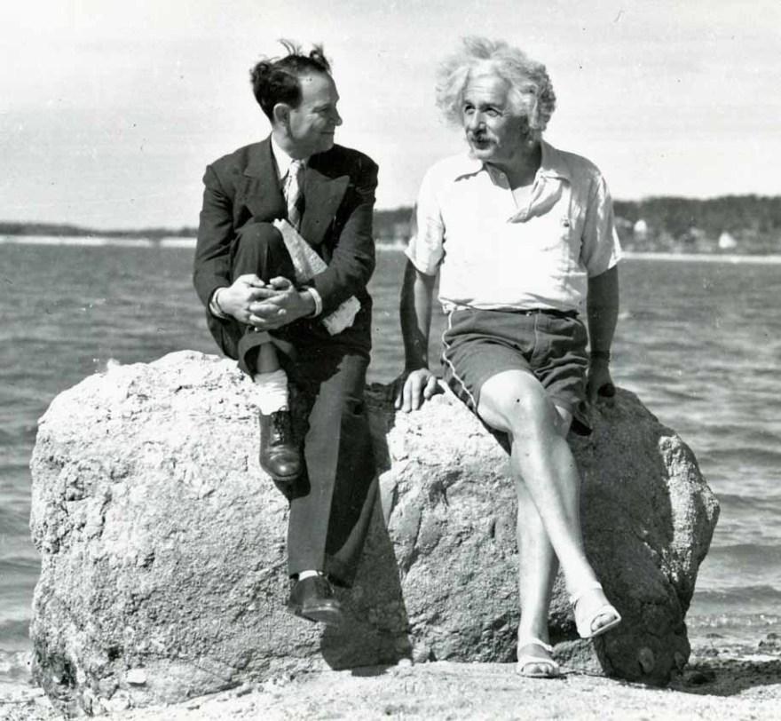 Альберт Эйнштейн, Лонг-Айленд, Нью-Йорк, лето 1939 года