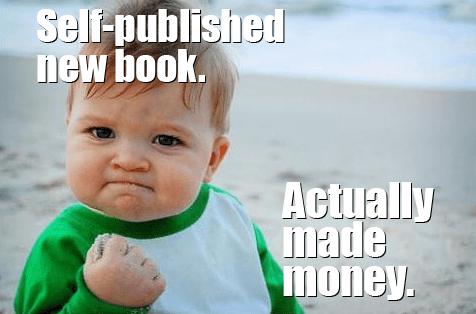 Self-publishing funny