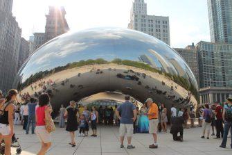 Millenium Park in Chicago (August)