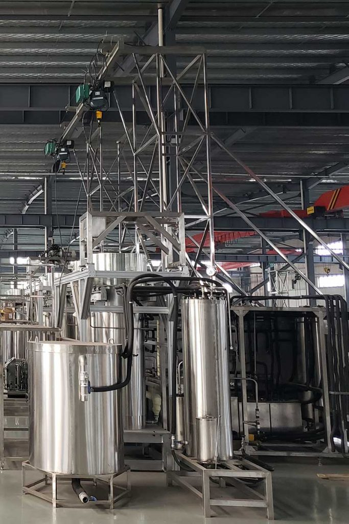 wheat germ oil supercritical CO2 extraction machine