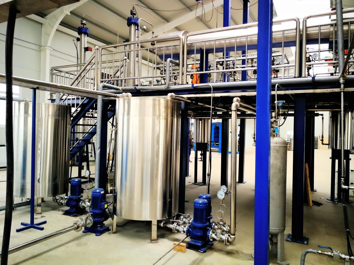 300l supercritical co2 extraction equipment