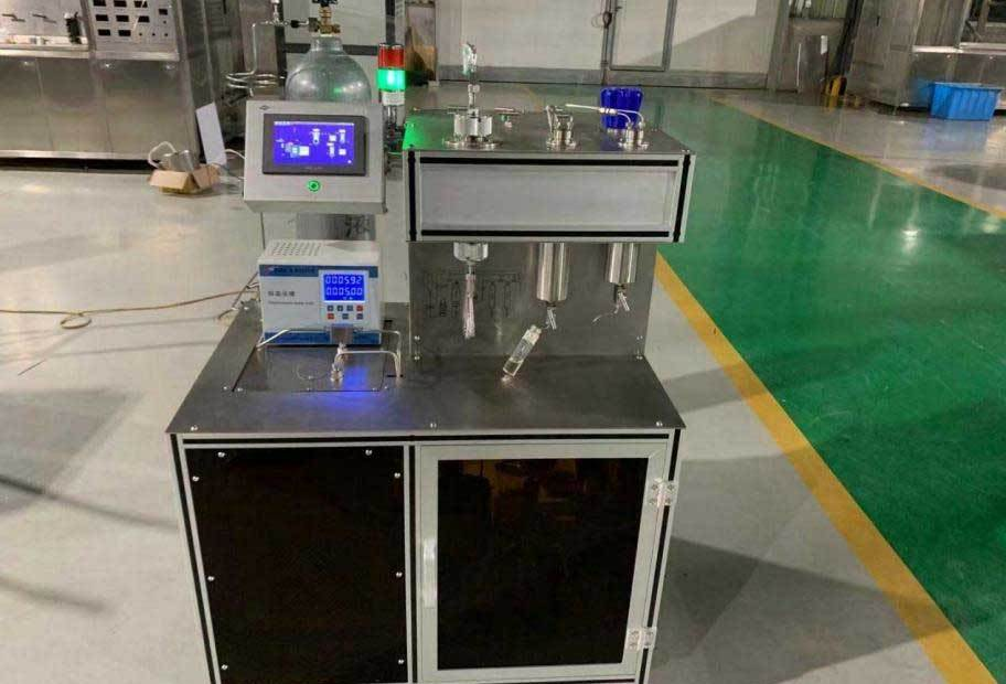 laboratory-scale supercritical CO2 extraction system