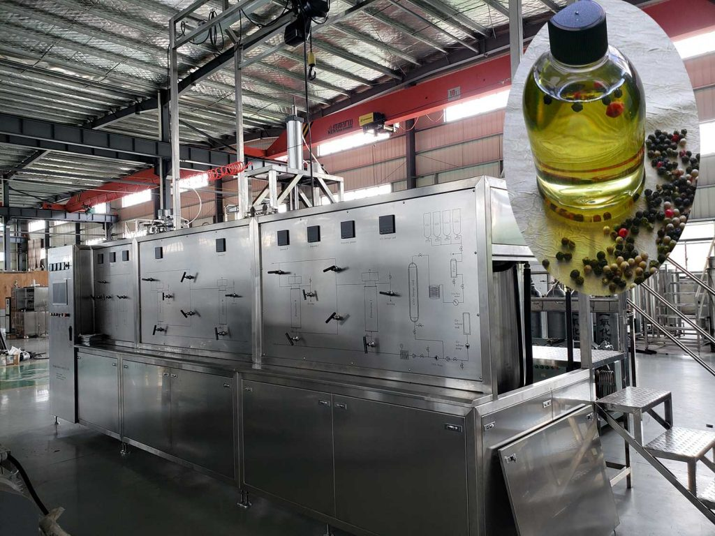 Supercritical CO2 Extraction Machine For Black Pepper Oil